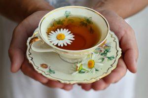 chamomile tea to lessen sleep problems